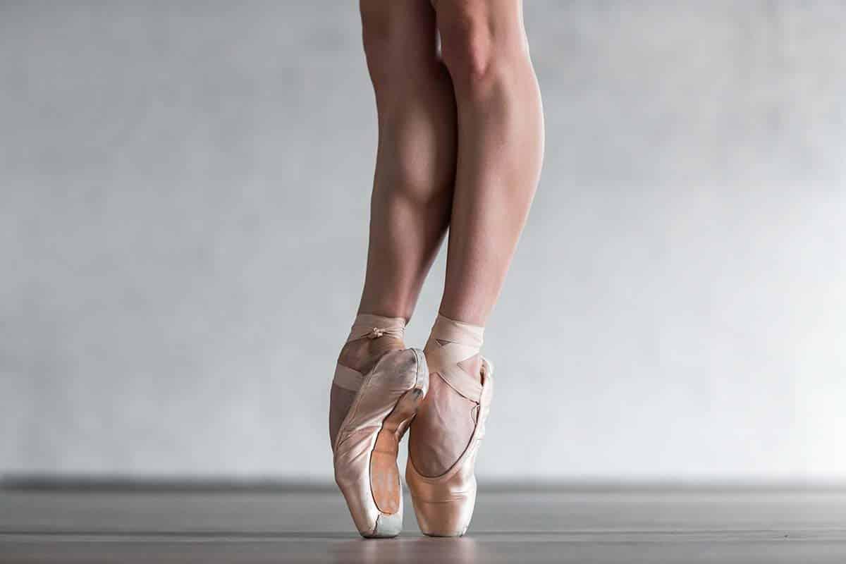Dancer Posing in Studio