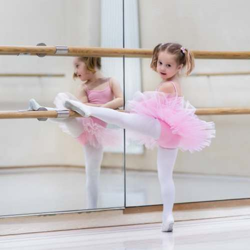 Girl Dancing Tights Wear