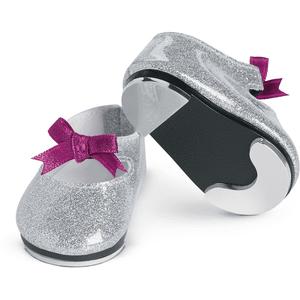 Girls Pink Tab-shoe