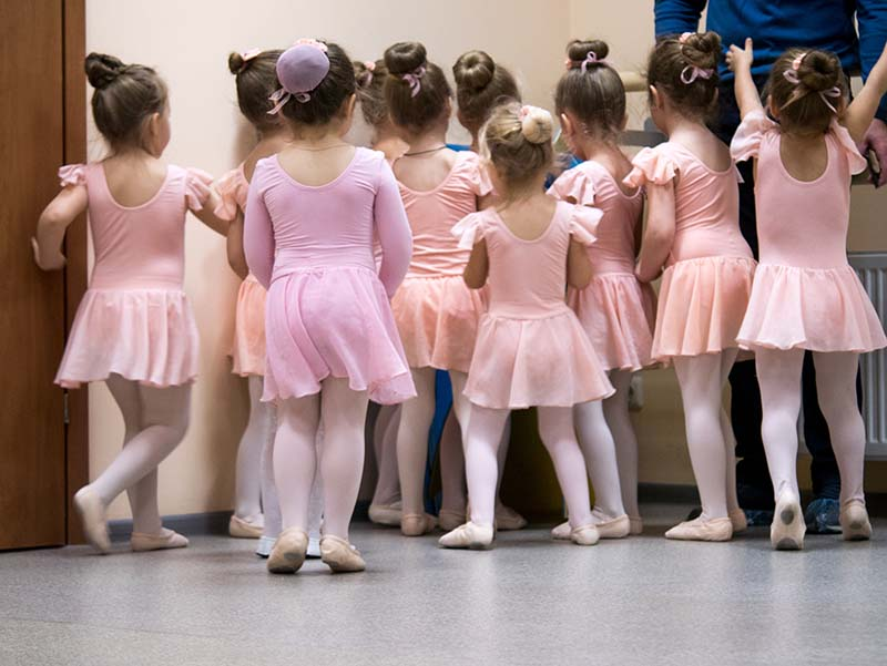 Little Dancers in Class