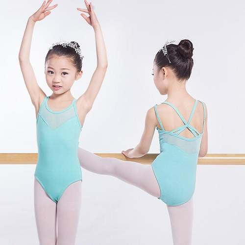 Long Sleeve Cotton Dance Leotard