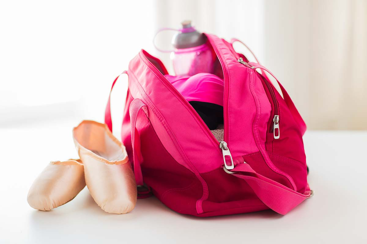 Pink Bag and Ballet Shoes