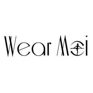 Wear Moi Black Logo